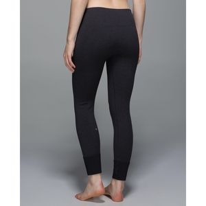 Lululemon Ebb To Street Pant Heathered Black